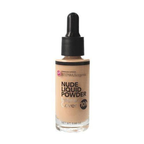 hypoallergenic puder w płynie nude liquid powder nr 03 natural 25g marki Bell
