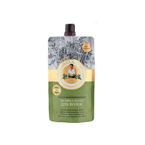 Babuszka agafia maska ekspresowa regenerująca do włosów (łaźnia agafii) 100ml marki Pierwoje reszenie, rosja