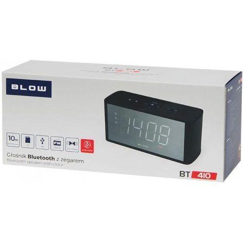 Blow Głośnik bluetooth bt410 fm microsd zegar (5900804105299)