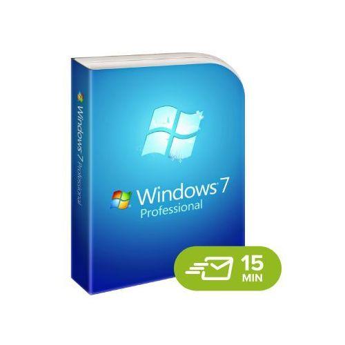 Windows 7 professional, licencja elektroniczna 32/64 bit marki Microsoft