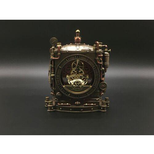 Veronese Steampunk okazały zegar kominkowy (wu77170a4)