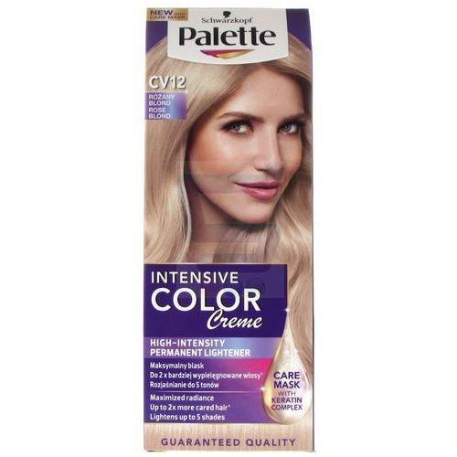 Palette Intensive Color Creme Farba do włosów Różany Blond nr CV12, kolor blond