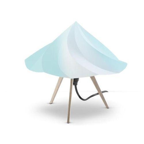 CHANTILLY-Lampa stojąca Trójnóg Drewno Wys.28cm (3663710058333)