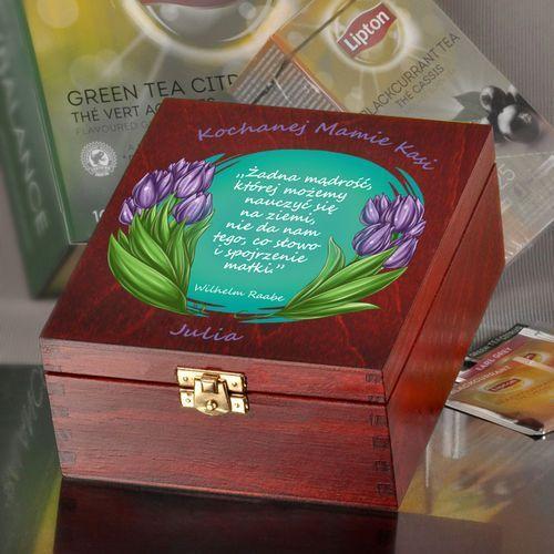 Pudełko z herbatą-