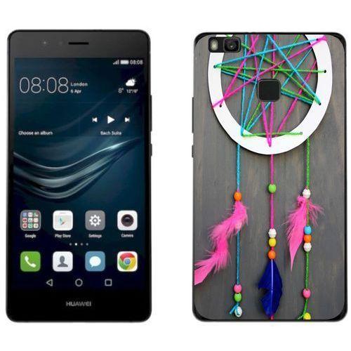 Huawei p9 lite 2017 - etui na telefon - kolekcja boho - łapacz snów 18 - j85 marki Zolti