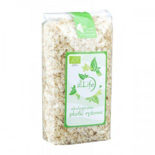 Bio Life Płatki ryżowe 300g z kategorii Płatki, musli i otręby