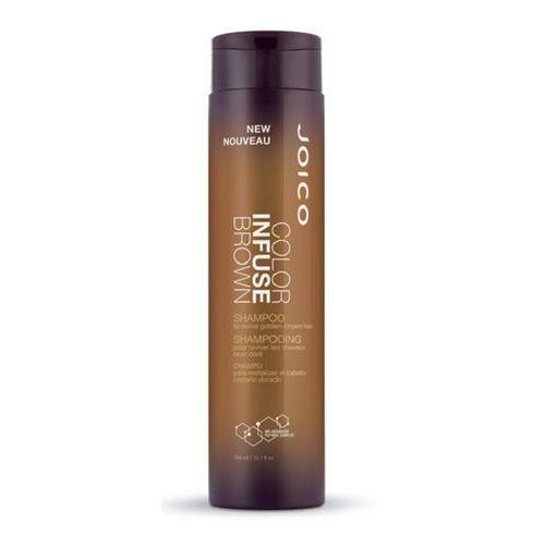 Joico  color infuse brown | szampon podkreślający kolor włosów brązowych - 300ml