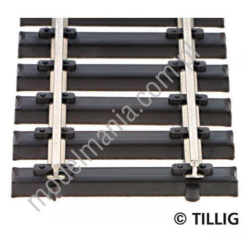 Tillig Tor gięty podkład stalowy l=520mm 83136