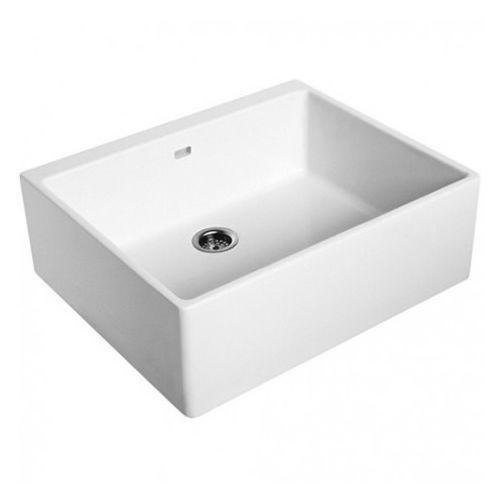 Nova Pro Koło zlew ceramiczny 60 cm - 5210000, kolor biały
