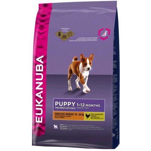 Eukanuba PUPPY/JUNIOR medium - 15+3kg, 1184