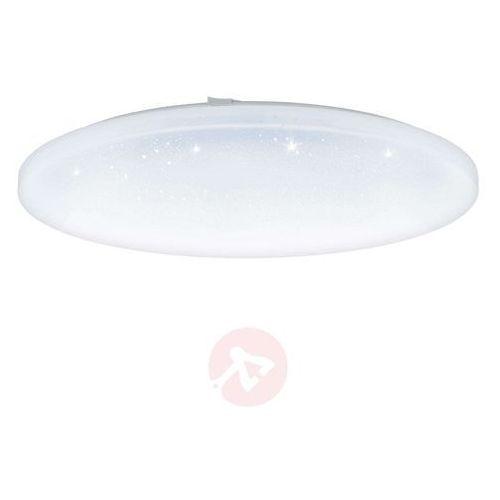 Lampa sufitowa led frania kryształowa, okrągła marki Eglo