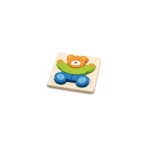 Viga 50169 pierwsze puzzle maluszka - miś (1802, viga) (6934510501693)