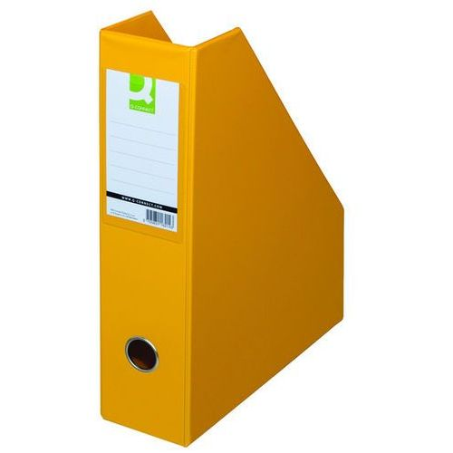 Pojemnik na dokumenty , pvc, a4/76, żółty marki Q-connect