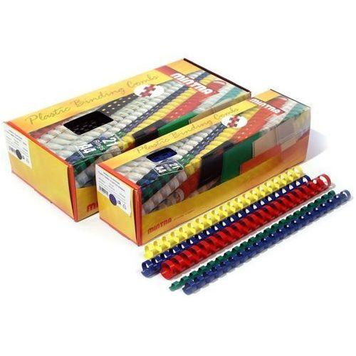 Grzbiety plastikowe do bindowania 10mm, 100szt., NB-838