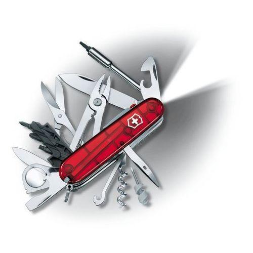 Scyzoryk Victorinox CyberTool Lite, przejrzysty czerwony, Celidor, 91 mm (1.7925.T), 1.7925.T