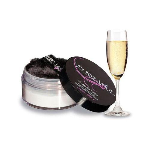 Smaczny pyłek do ciała - Voulez-Vous... Edible Body Powder szampan