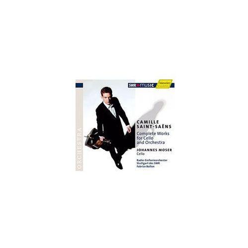 Haenssler Saint - saens: complete works for cello and orchestra (4010276020547)
