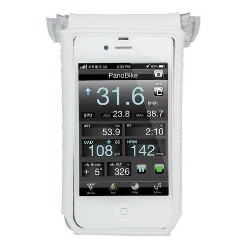Topeak smartphone drybag 4 biały/przezroczysty 2016 liczniki