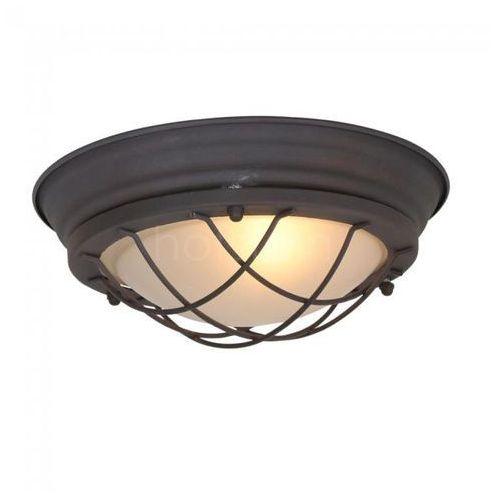 Steinhauer Mexlite Lampa Sufitowa Brązowy, 1-punktowy - Przemysłowy - Obszar wewnętrzny - Mexlite - Czas dostawy: od 2-3 tygodni (8712746115147)