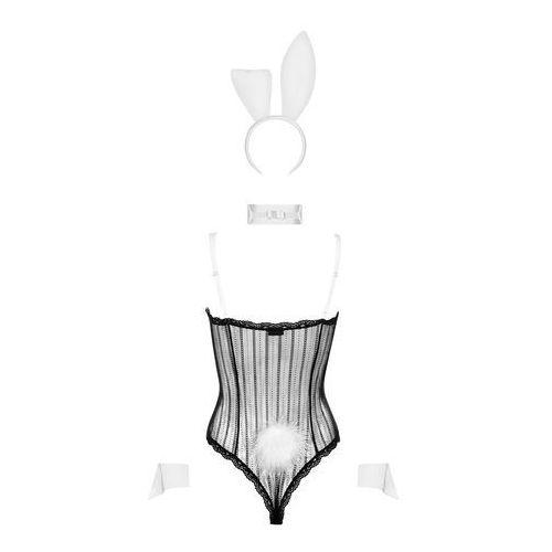 Obsessive Bunny Body Kostium 4-częściowy, 7054103