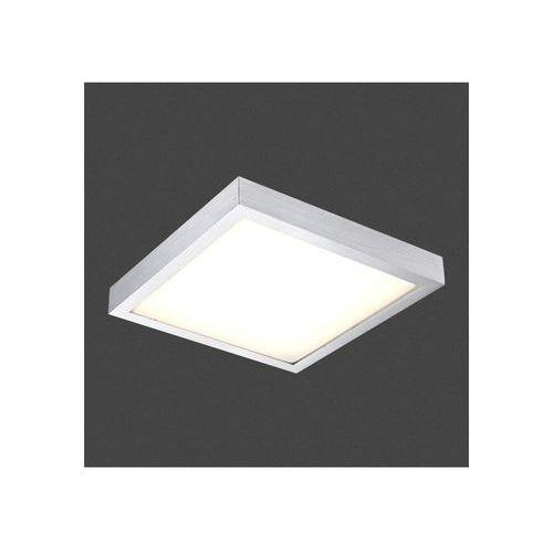 Globo Plafon lampa oprawa sufitowa tamina 1x12w led aluminium 41661 (9007371245529)
