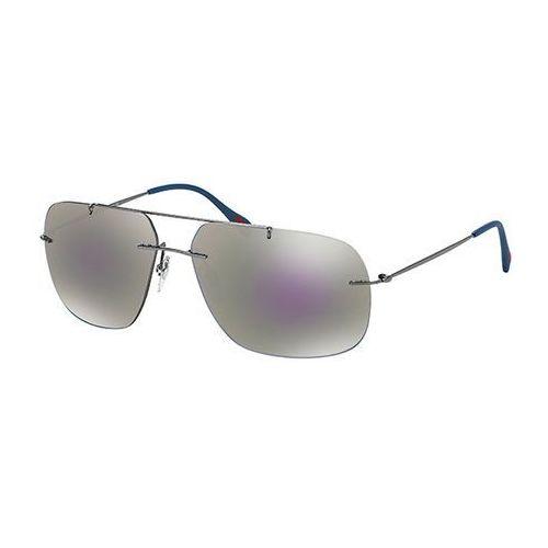 Okulary słoneczne ps55ps red feather 5av2e2 marki Prada linea rossa