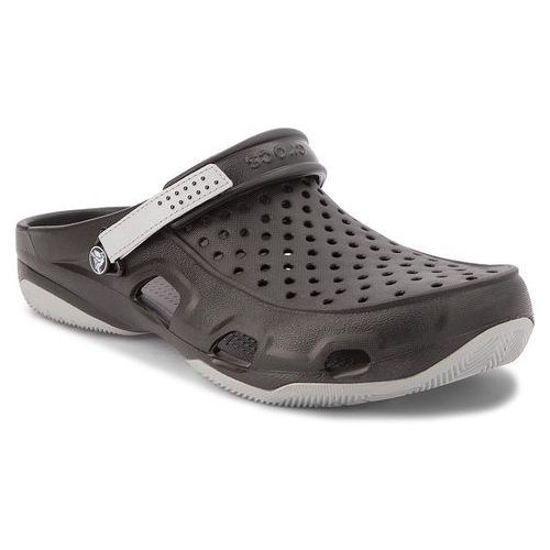 Klapki - swiftwater deck clog m 203981 black/light grey marki Crocs