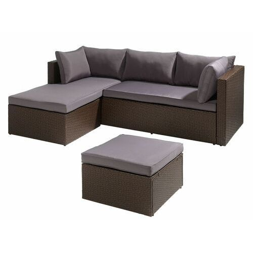 Florabest® wypoczynkowy narożnik ogrodowy ze stolik (4056233857825)