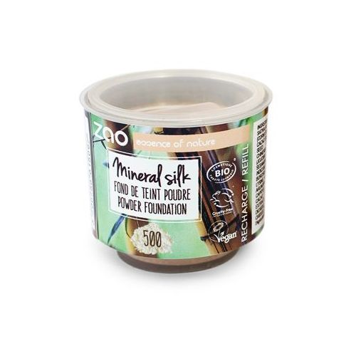 Zao - make up organic Podkład mineralny w pudrze zao - wkład - 506 - brązowy beż