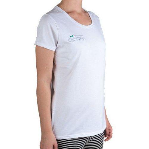 Bielenda  professional t-shirt bawełniany z logo biały (s-xl)