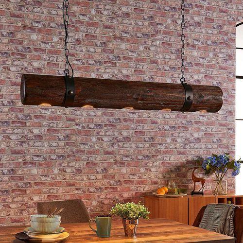 Ekstrawagancka drewniana lampa wisząca legno marki Lampenwelt.com