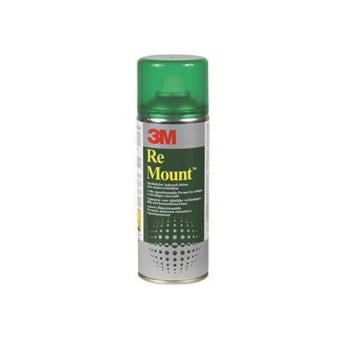 Klej w sprayu 3M Remount (UK9473), do repozycjonowania, 400ml