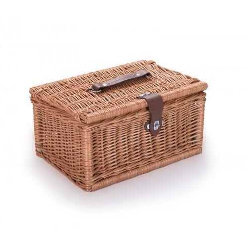 Wyroby z wikliny pph jan wnuk Wiklinowy kuferek piknikowy kosz na piknik prezent (5907632994408)