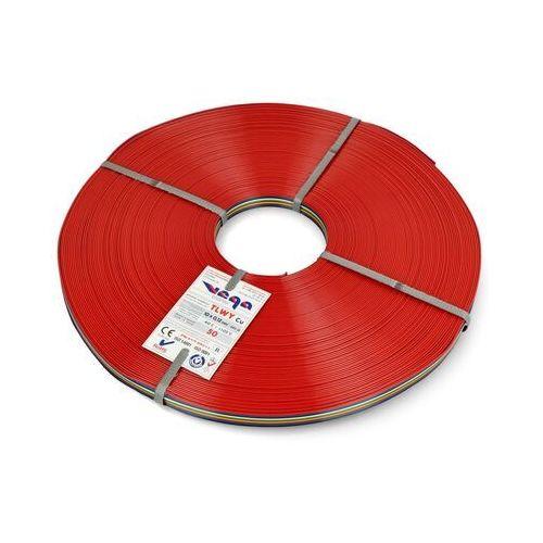 Przewód wstążkowy TLWY - 10x0,12mm²/AWG 26 - wielokolorowy - 50m, kolor kolorowy