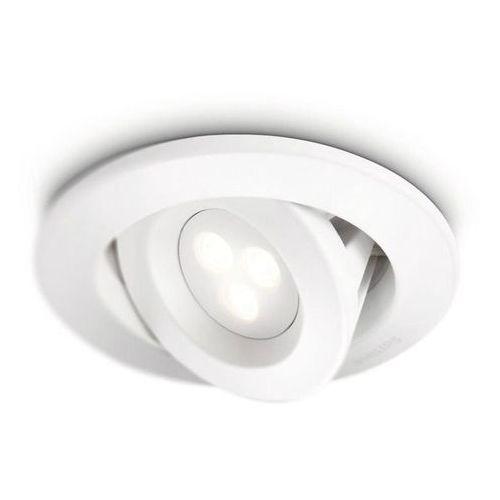 Philips Carnet-reflektorek do zabudowy led do łazienki metal Ø12cm