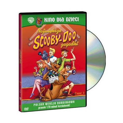 Scooby-doo, największe zagadki 2 - Zaufało nam kilkaset tysięcy klientów, wybierz profesjonalny sklep (7321909029071)