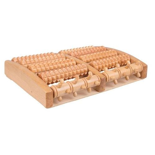 Drewniany masażer stóp azaika marki Insportline