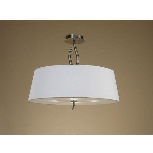Lampa sufitowa ninette 4l antyczny mosiądz - kremowy klosz, 1928 marki Mantra