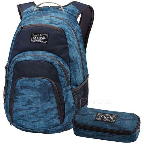 "Dakine Campus 25L plecak miejski na laptopa 14"" + piórnik GRATIS / Dark Blue - Dark Blue"