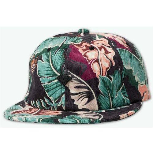 czapka z daszkiem DIAMOND - Tropical Paradise Strapback Black (BLK) rozmiar: OS, kolor czarny