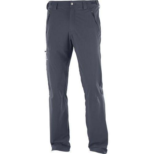 Salomon Wayfarer Spodnie długie Mężczyźni Regular szary 46 2018 Spodnie turystyczne, proste