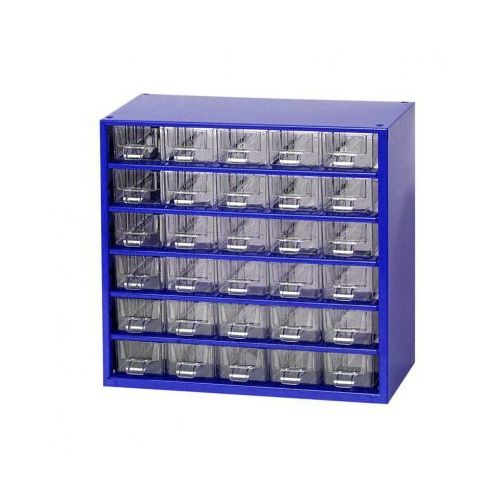 Mars Metalowe szafki z szufladami, 30 szuflad (8595004167627)