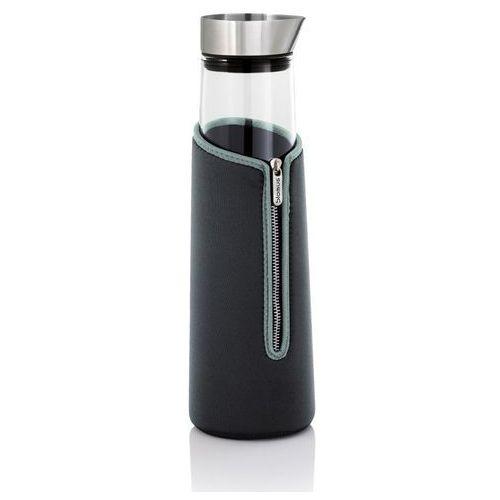 Blomus - Acqua - Pokrowiec termoizolacyjny na karafkę 1 L - grafitowy - 1,00 l