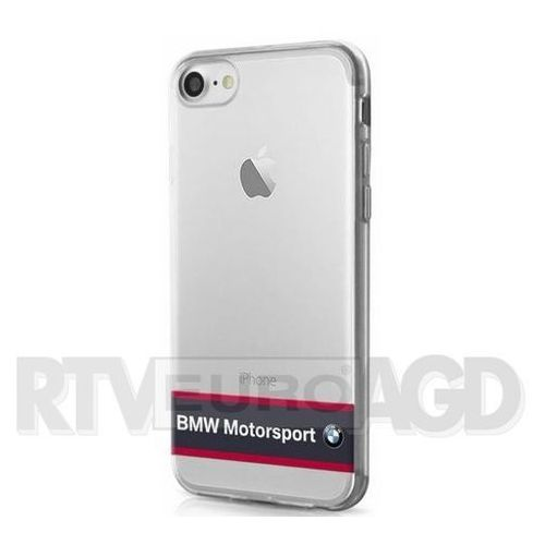 BMW Etui Hard do iPhone 7 granatowe-transparentne (BMHCP7TRHNA) Darmowy odbiór w 20 miastach!, ORG002744