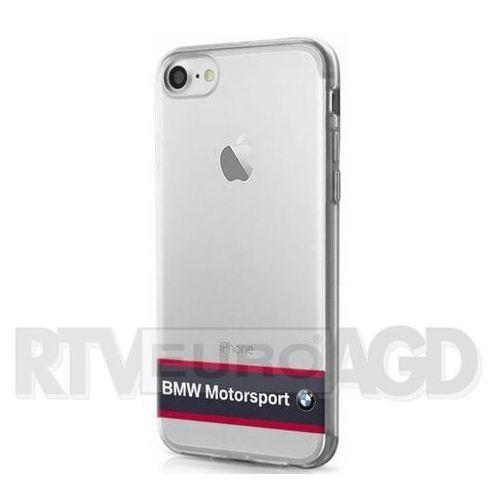 BMW Etui Hard do iPhone 7 granatowe-transparentne (BMHCP7TRHNA) Darmowy odbiór w 20 miastach! - produkt z kategorii- Futerały i pokrowce do telefonów