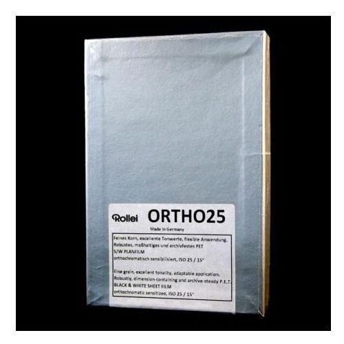 "Rollei Film ORTHO 25 4x5""/50 ISO 25/15°"