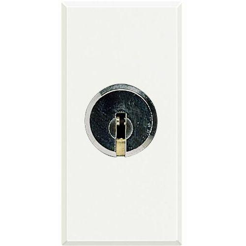 AXOLUTE Łącznik schodowy z kluczem 1P 16AX 250V /zaciski śrubowe/ biały HD4022 (8012199987798)