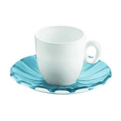 Guzzini - Grace - kpl. 2 filiżanek espresso, niebieski - niebieski, 28740081