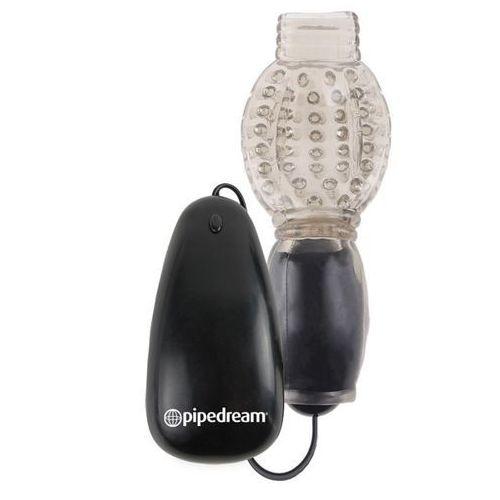 Fetish fantasy Vibrating head teazer black | 100% dyskrecji | bezpieczne zakupy