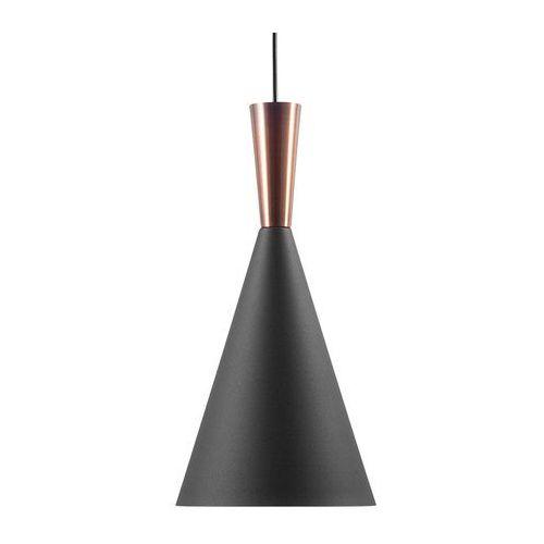 Lampa wisząca czarno-miedziana tagus marki Beliani